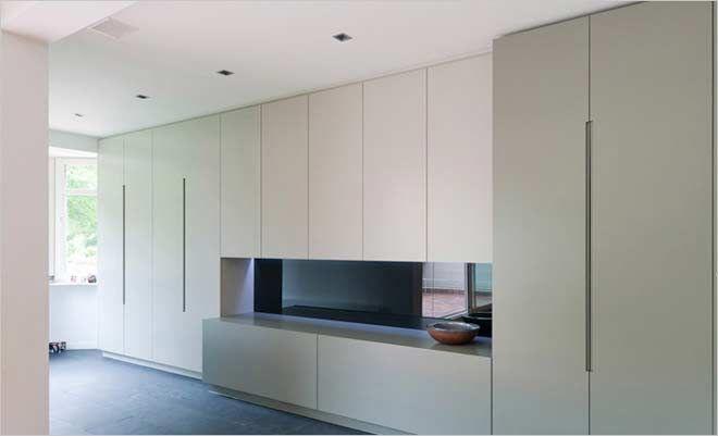 58 beste idee n over kasten op pinterest verborgen opslag trap opslag en schuifdeuren - Idee outs semi open keuken ...