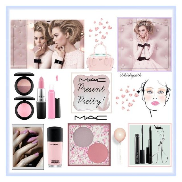 Present Pretty MAC! by whirlypath on Polyvore featuring beauty, MAC Cosmetics and M.A.C