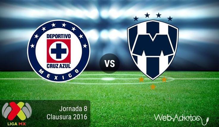 Cruz Azul vs Monterrey, Torneo Clausura 2016 ¡En vivo por internet! - https://webadictos.com/2016/02/27/cruz-azul-vs-monterrey-clausura-2016-j8/?utm_source=PN&utm_medium=Pinterest&utm_campaign=PN%2Bposts