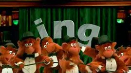 "In this video segment from Between the Lions, the Lions sing about the importance of the letter combination ""ing,"" words that couldn't be formed without ""ing,"" and consequently events that could never happen without ""ing."" Monkeys sing along, dance, and perform a tap routine. Featured words include: sing, thing, ding-a-ling, sting, cling, zing, spring, king, swing, string, wing, brings, ping, and ring. This video segment provides a resource for Phonemic Awareness, Phonics, and Phono…"