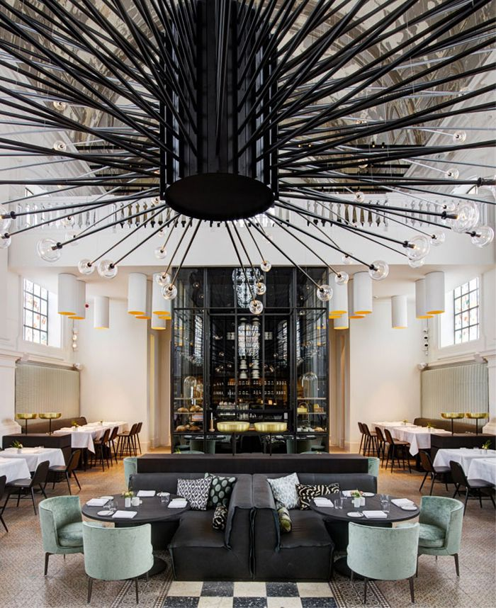 Image 3 Of 11 From Gallery Of Restaurant U0027The Janeu0027 Antwerp / Piet Boon.  Photograph By Richard Powers