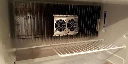 RV Refrigerator Fans and Wireless Thermometer | RV Mods and