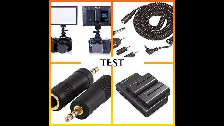 Test microphone & lumière pour mon appareil photo Canon 700 D