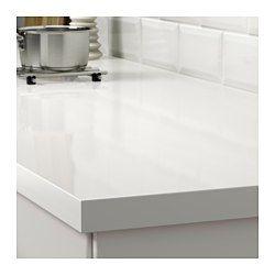 IKEA - SÄLJAN, Maatwerkblad, 45.1-63.5x3.8 cm, , Gratis 25 jaar garantie. Raadpleeg onze folder voor de garantievoorwaarden.Werkbladen van laminaat zijn zeer slijtvast en onderhoudsvriendelijk. Als je er wat zorg aan besteedt, blijven ze er jarenlang als nieuw uitzien.Alle laminaatkleuren kunnen worden besteld met een afgeronde of een rechte kantlijst in dezelfde kleur. Je kan ook contrasten creëren door een kantlijst te kiezen in een ander patroon of materiaal.Het werkblad wordt op maat…