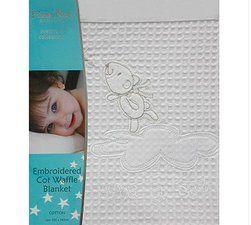 Baby Setup, Baby Products, Organic Baby Products, Bubba Blue Waffle Blanket  www.babysetup.com.au