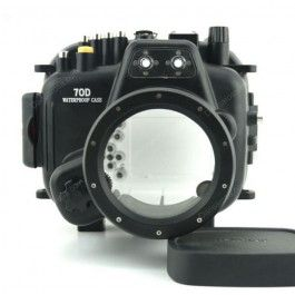 40m Meikon Canon EOS 70D Underwater Camera Housing 18-135mm Lens