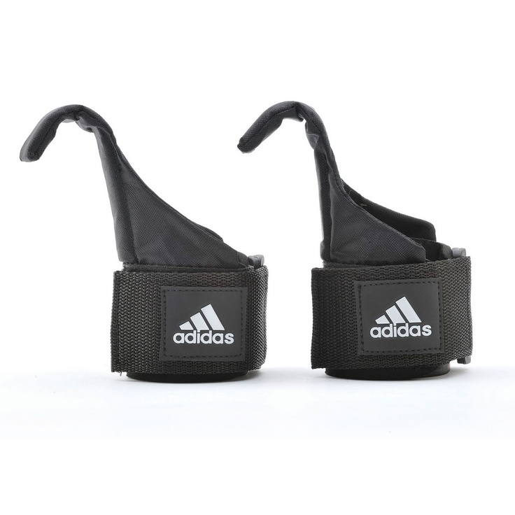 The Adidas hook lifting straps are perfect for heavy weight lifting.