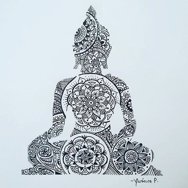 Buddha ✨ by @veronicap28