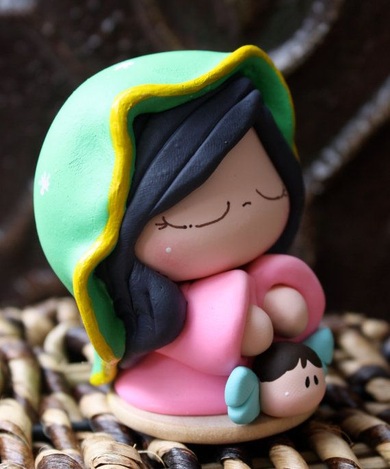 Our Lady of Guadalupe - Virgen de Guadalupe - Virgin Mary - Holy Mother via Etsy