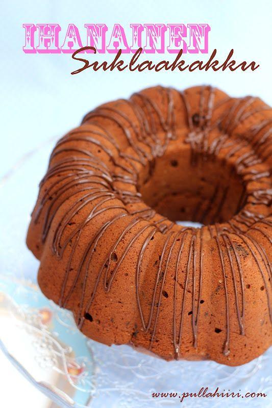 Pullahiiren leivontanurkka: Ihanainen suklaakakku