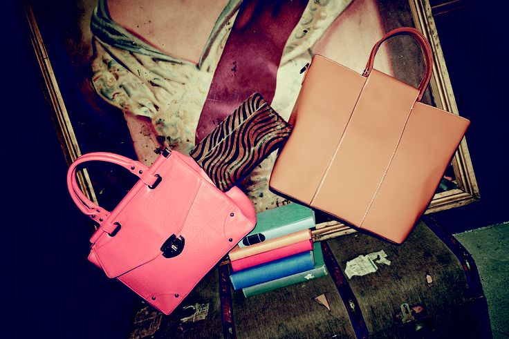 Bags, bags and more bags! You will find something you will love for any occasion.