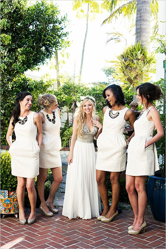 Best 25  Cream bridesmaids ideas on Pinterest | Cream bridesmaid ...