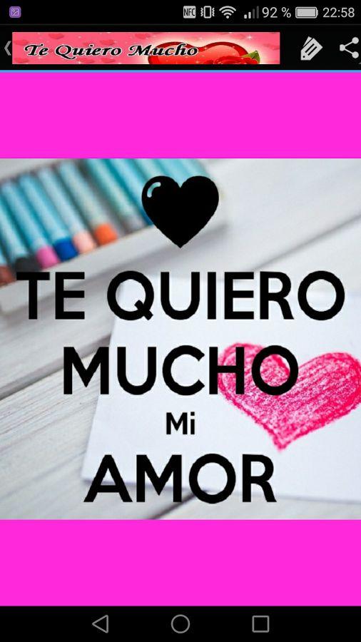 Image result for te quiero mucho mi amor