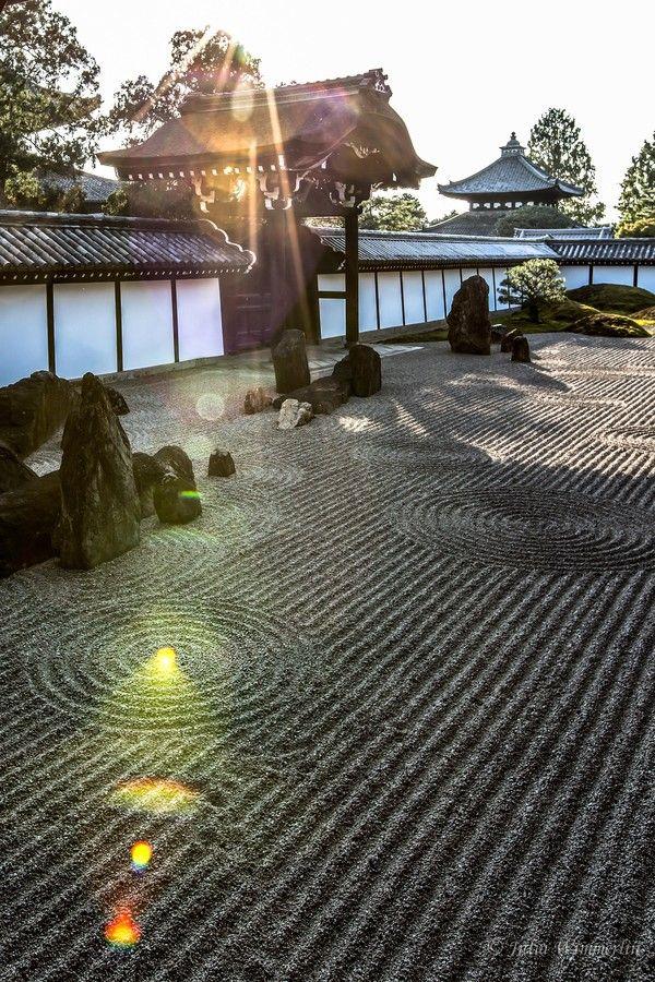 石庭、日本庭園、東福寺