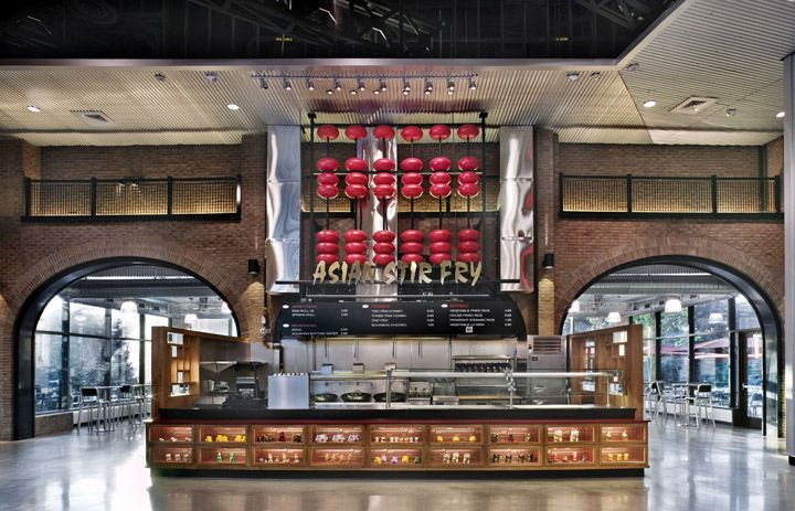 FOOD COURTS! Food Court, MGM at Foxwoods Casino by Chris Gonya, Mashantucket - Connecticut