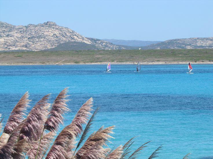 La #plage de la #Pelosa, une des plus belles de #Sardaigne. #Italie