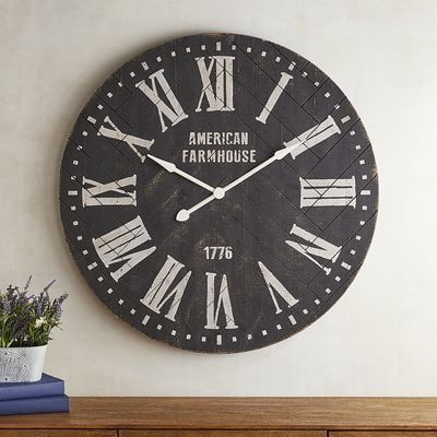 Best 25 Farmhouse Wall Clocks Ideas On Pinterest Wall