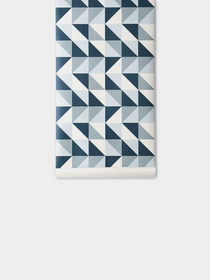 Danish design quality wallpaper - printed on WallSmart - Colorful and decorative design for your home