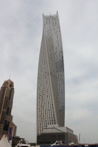 Infinity Tower in Dubai by SOM
