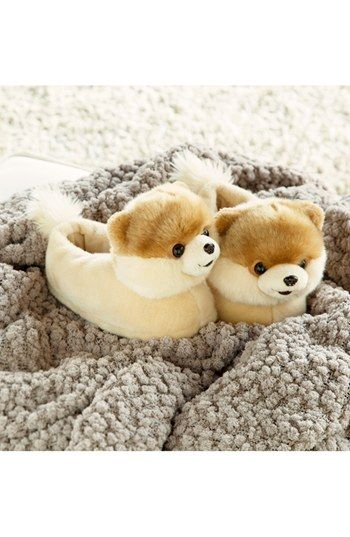 'Boo - The World's Cutest Dog' Slipper http://rstyle.me/n/c7zudnyg6