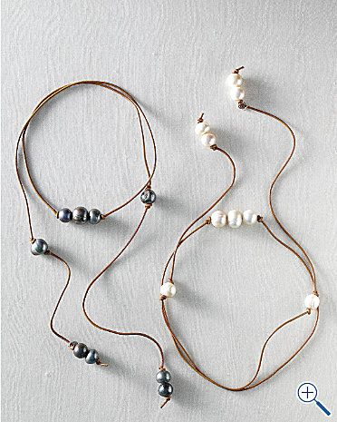 jewelry pearl necklace. Could think of this as a bracelet too.