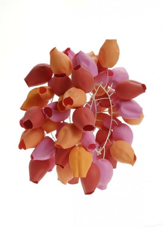Maria Brossa, balloons, silver, 2007