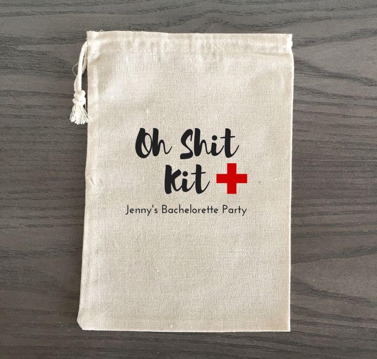 10 Bachelorette Hangover Kit, Survival Kit, Party Bags, Recovery Kit, Emergency Kit Favor Bags, Bachelorette Party Favor-Oh Shit Kit, Custom by AlfandNoop on Etsy https://www.etsy.com/listing/278764472/10-bachelorette-hangover-kit-survival
