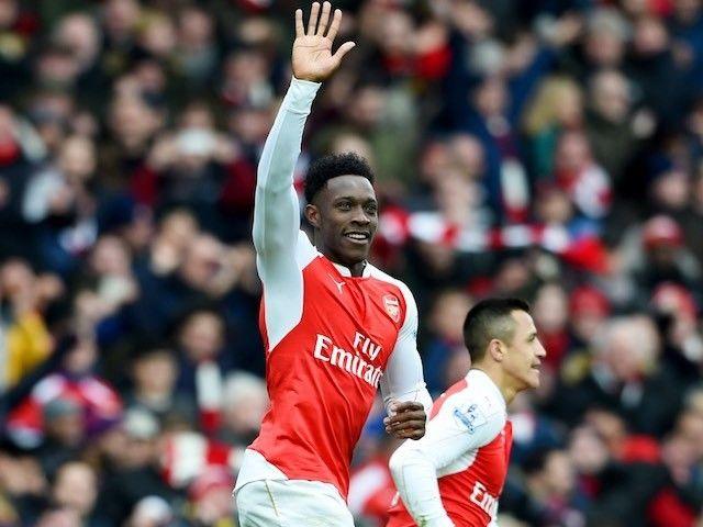 """Arsenal striker Danny Welbeck """"ahead of schedule"""" in return from knee injury"""