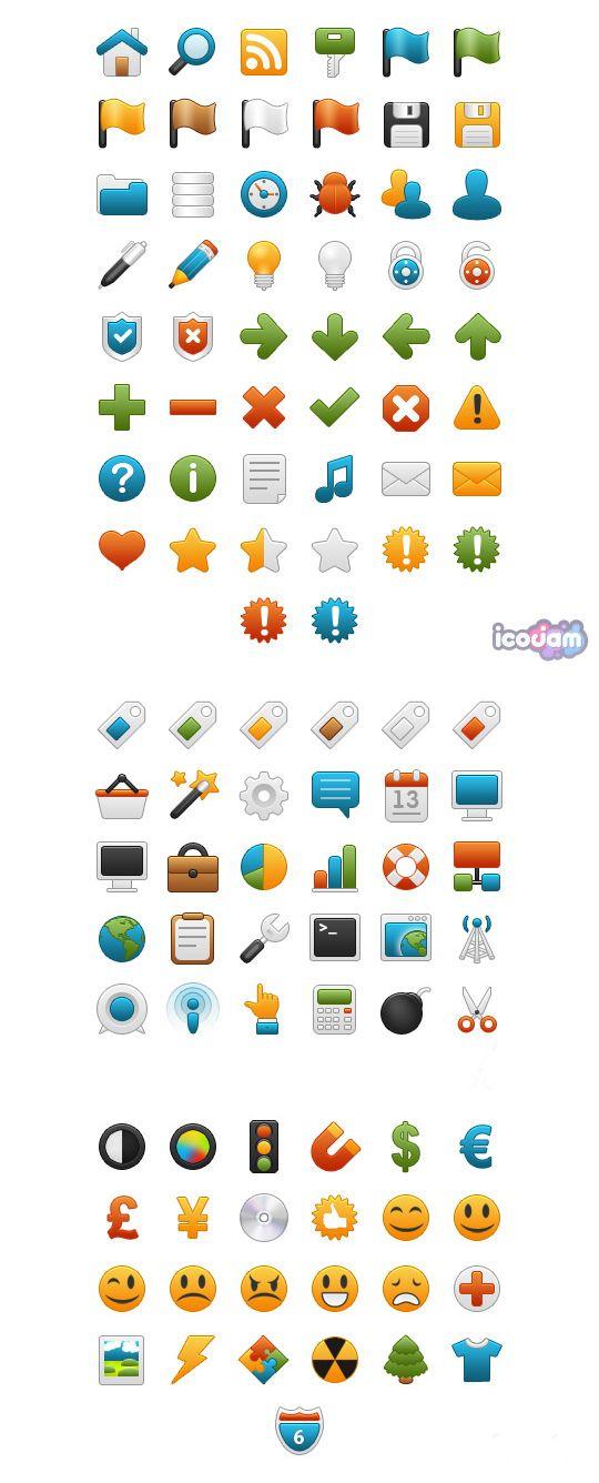 Onebit - Free Icon set