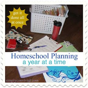 Homeschool Planning, A Year at a Time: Create the Overview | Simply Convivial