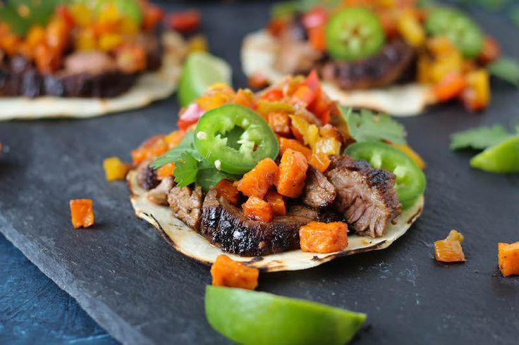 Coffee Rubbed Steak Tacos |