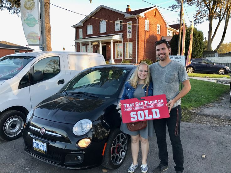 Dillon and Kayle are proud new Fiat 500 owners! Thanks for choosing THAT CAR PLACE!