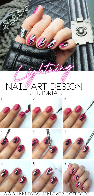 127 besten Nagel Designs und Tutorials Bilder auf Pinterest ...