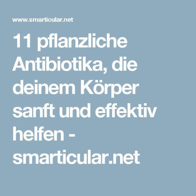 11 pflanzliche Antibiotika, die deinem Körper sanft und effektiv helfen - smarticular.net