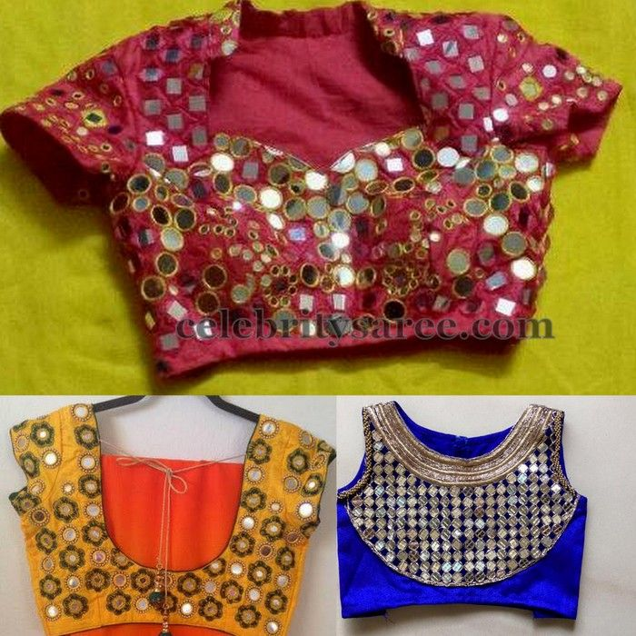 Classic Trendy Mirror Blouses | Saree Blouse Patterns