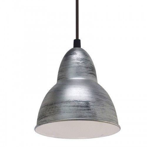 Lampa suspendata argintie Dijon