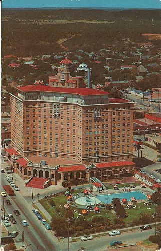 Baker Hotel Mineral Wells Texas Postcard Oh The Secrets This Still Holds