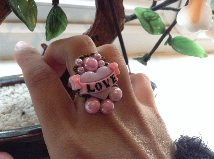 A personal favourite from my Etsy shop https://www.etsy.com/uk/listing/249652423/love-decoden-gemstone-ring