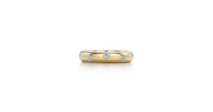 cool Потрясающие обручальные кольца Тиффани (50 фото) — Каталог коллекций и цены