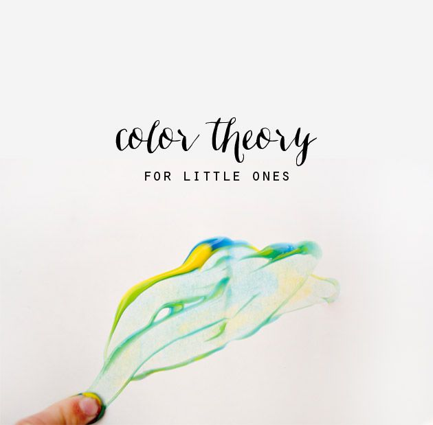 color theory for little ones - Books On Color Theory