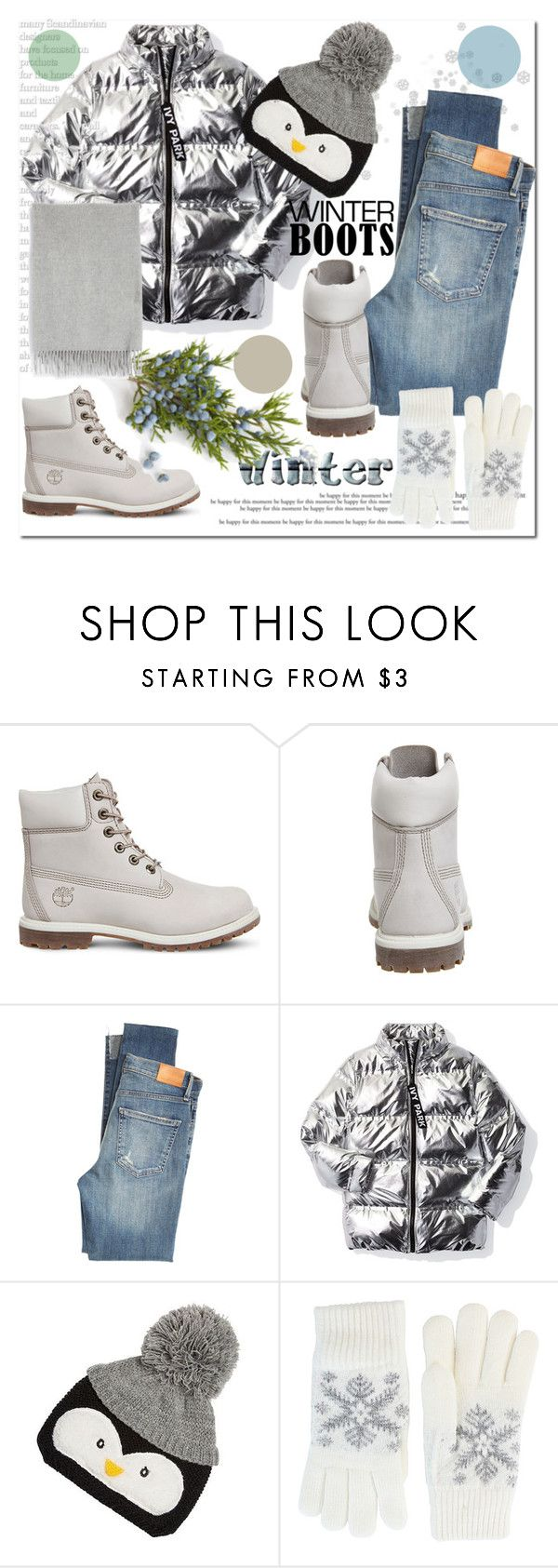 """""""Winter Boots"""" by ilona-828 ❤ liked on Polyvore featuring Timberland, Citizens of Humanity, Ivy Park, Fits, Acne Studios, StreetStyle, Winter, polyvoreeditorial and winterboots"""
