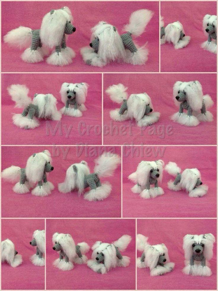 37 besten Crocheted Mini Dogs Bilder auf Pinterest | Amigurumi ...