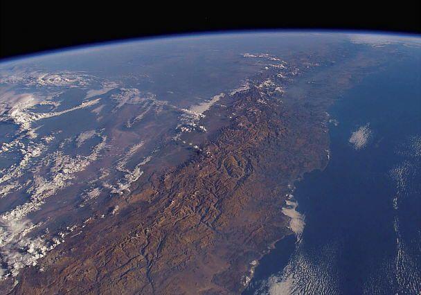 Andes | Cordillera de los Andes . La Tierra desde el Espacio