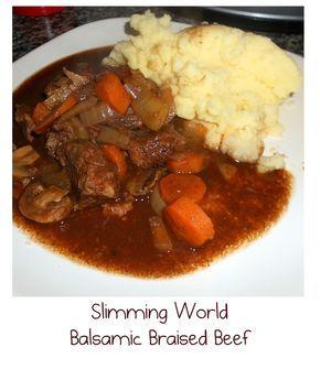 Slow cooker beef, slimming world