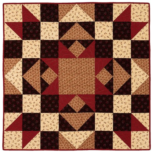 One-block quilts are addicting—a limited fabric palette, larger pieces of fabric, and only one BIG block to make means you can piece a quilt top in just a few hours with stunning results.