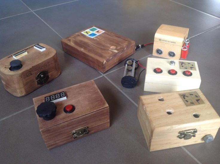 Cool puzzle box geocaches by  Adolficus Geocacher.  #IBGCp