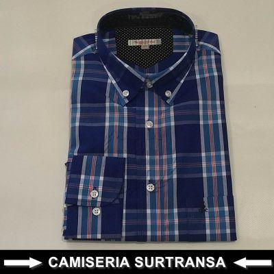 Camisa Cuadros Surtransa 589