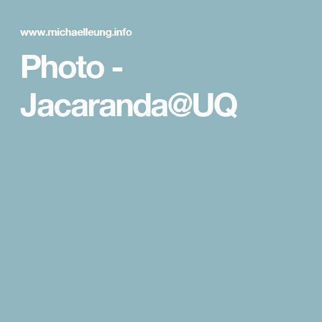 Photo - Jacaranda@UQ
