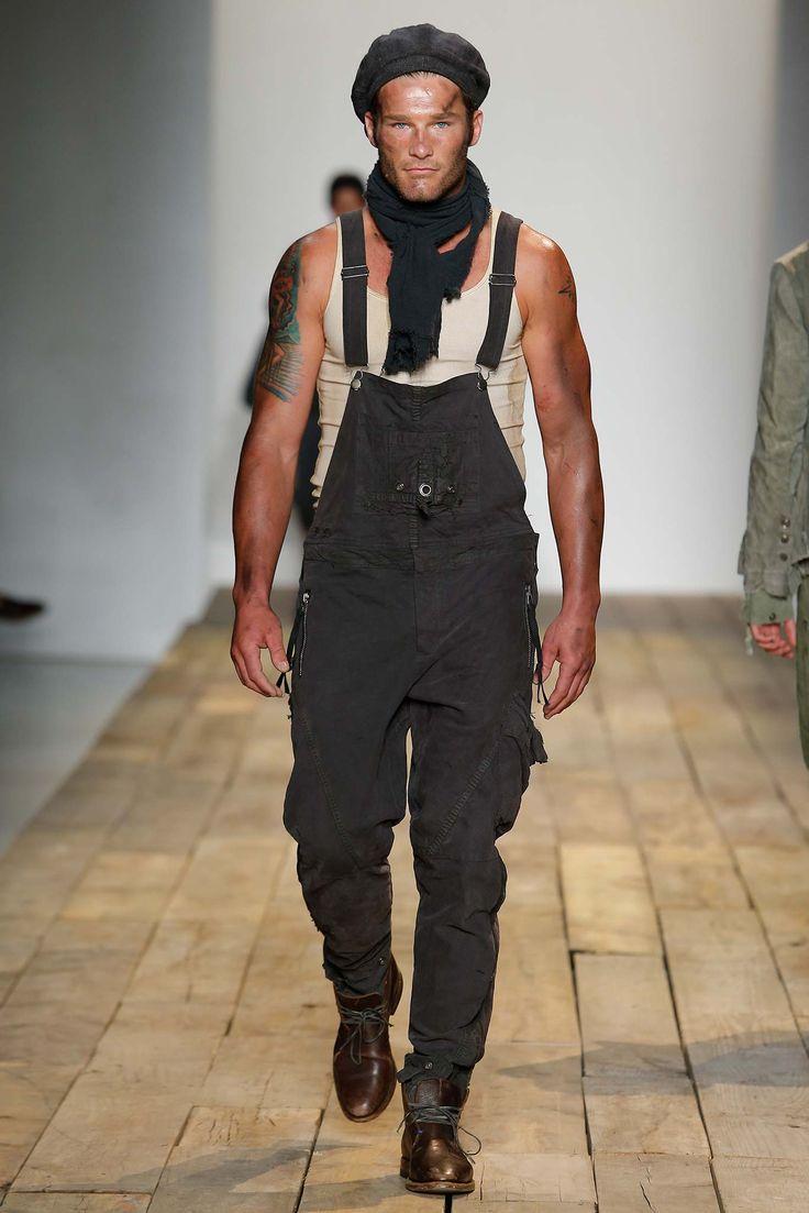 overalls, workwear style - Greg Lauren Spring 2016 Menswear, New York Fashion Week: Mens // menswear style + fashion