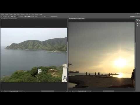 Photosho CS6 Desde Cero 3-Abriendo-Trabajando y Conociendo - YouTube